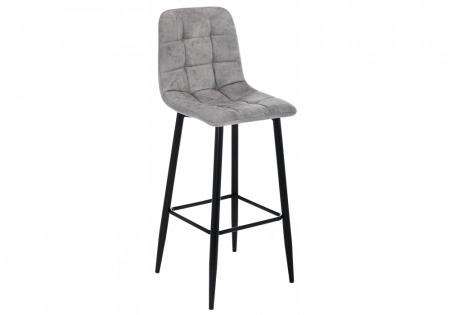 Барный стул Чиол серый