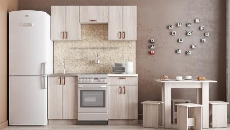 Кухонный гарнитур Легенда 10 (1 м)