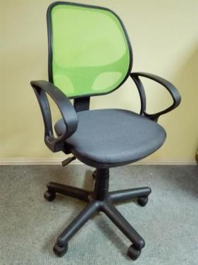Кресло Чат сетка лайм