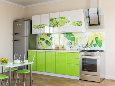 Кухня Лайм 2 м