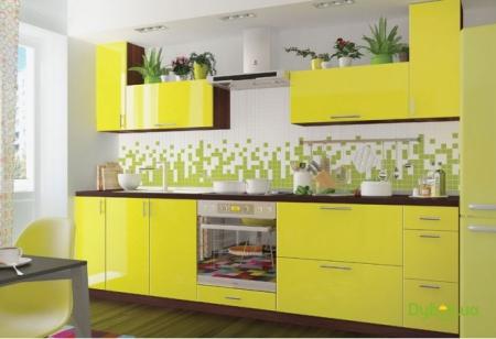 Кухонный гарнитур Лимонная свежесть
