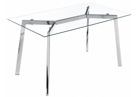 Стеклянный стол Модерн 140
